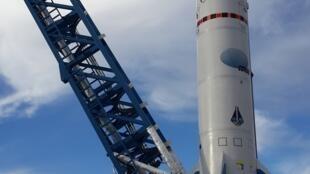 Tronador, el cohete espacial argentino