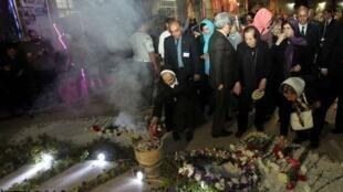 آیین یکصدمین سالگرد نسل کشی ارامنه در آوریل سال ١٩١۵ ، امروز پنجشنبه ٣ اردیبهشت ماه در کلیسای سرکیس مقدس تهران برگزار شد.