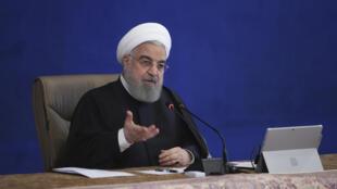 Le président iranien Hassan Rohani à Téhéran le 2 décembre 2020.