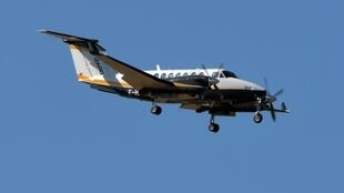 Самолет Beechcraft BE-200 над Тулузой (архивное фото)