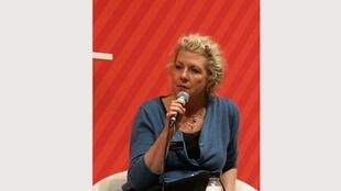 Jennifer Clement, auteure de «Balles perdues». Ici, le 22 septembre 2016 à la Foire du livre de Göterborg.