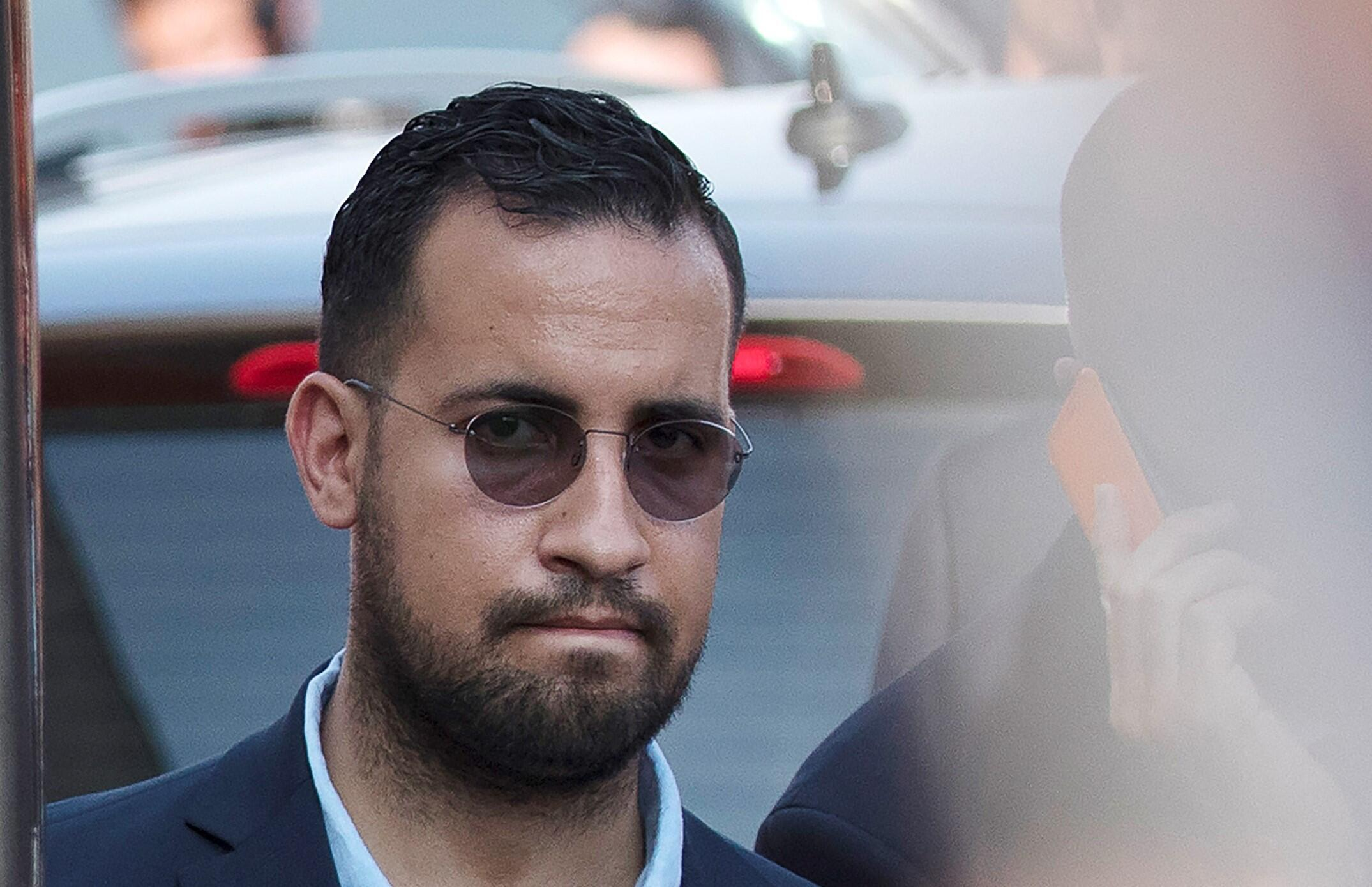Alexandre Benalla was one of President Macron's most trusted aides until he was captured on video assaulting a couple during a protest in 2018.