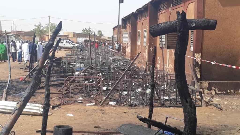 Niger: un incendie meurtrier ravage une école à Niamey