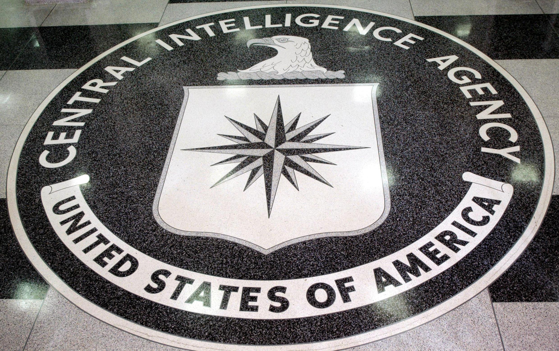 Ảnh minh họa : Phù hiệu biểu tượng của CIA tại tổng hành dinh CIA ở Langley, bang Virginia.
