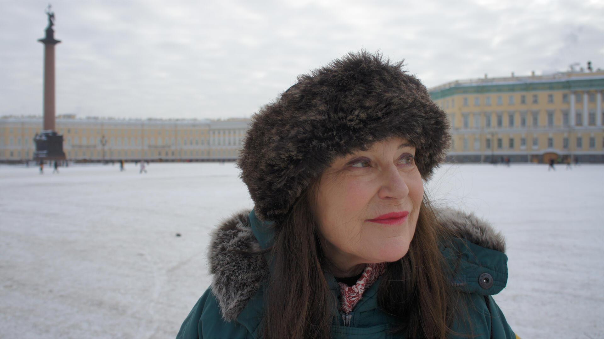 Pour son dernier livre, Irène Frain a suivi jusqu'en Sibérie les traces de Pauline Gueble, une femme du début du 19e siècle à l'âme farouche et résolument aventureuse.