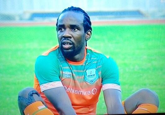 Kiungo wa Zesco ya Zambia Thaban Kamusoko baada ya kuiongoza timu yake kupata sare dhidi ya Yanga katika Uwanja wa Taifa Dar es Salaam, Septemba 14, 2019
