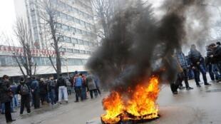 Беспорядки в Тузле, 6 февраля 2014 года