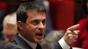 Глава МВД Франции Манюэль Вальс