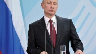 60-летний президент РФ В.Путин