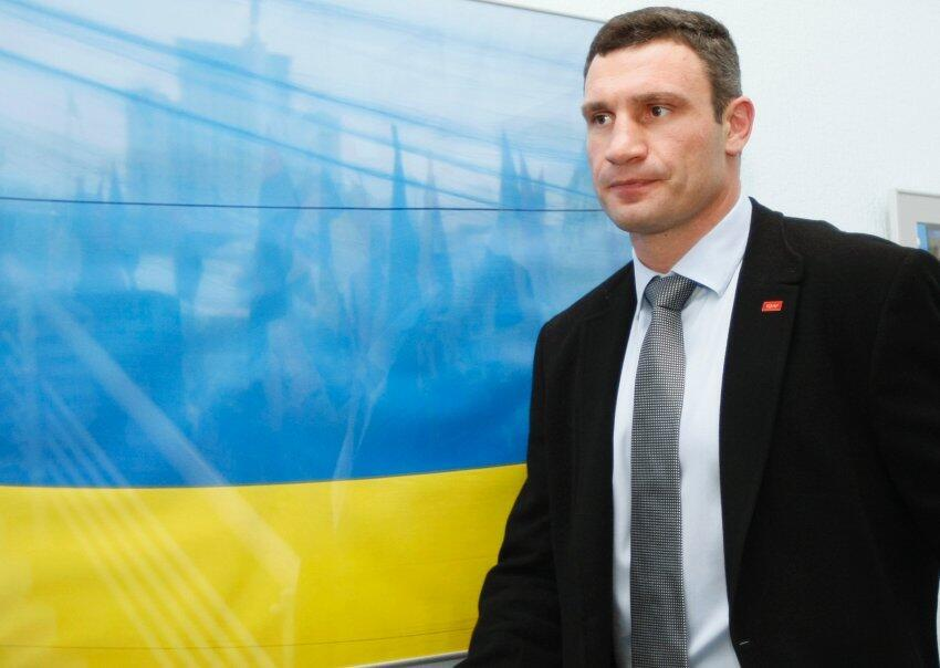Виталий Кличко - лидер фракции УДАР в украинской Раде
