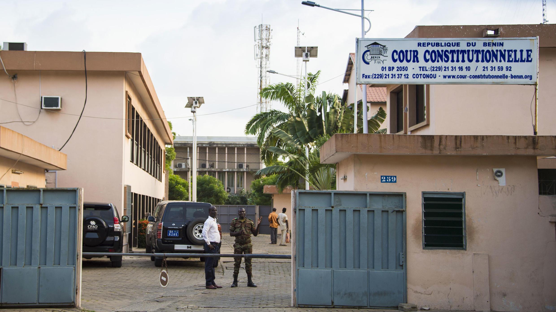 Les locaux de la Cour constitutionnelle du Bénin.
