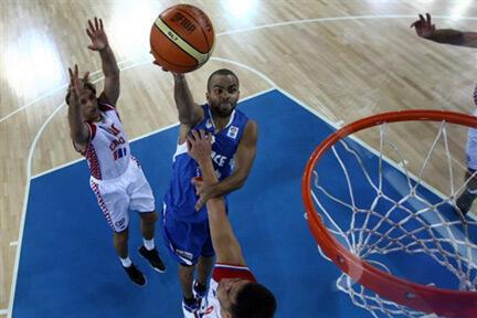 Tony Parker une nouvelle fois déterminant dans la victoire de Bleus sur la Croatie.