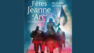 A Festa de Joana D'arc é comemorada todos os anos na cidade de Orléans no centro da França.