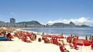 Praias cariocas neste verão 2016.