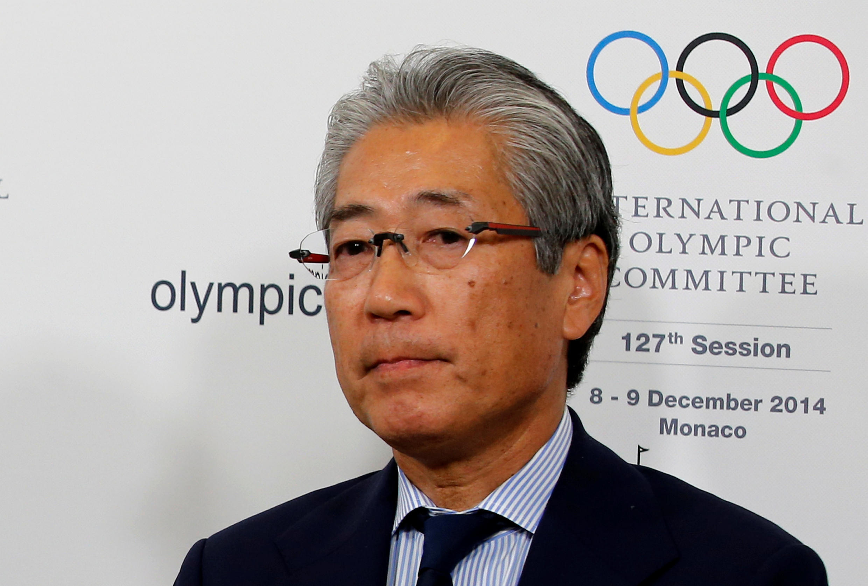Tsunekazu Takeda, presidente do Comitê Olímpico Japonês.