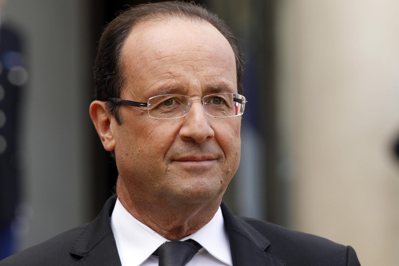 Tổng thống Pháp François Hollande sẽ đến dự hội nghị ASEM. Ảnh chụp 17/10/2012 (REUTERS)