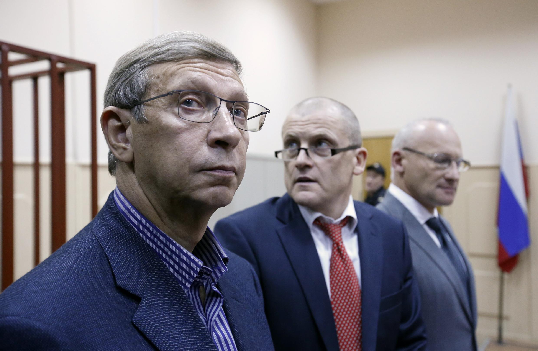 Владимир Евтушенков на заседании Басманного суда, 14 ноября 2014 г.