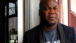 Rodney Sieh, fondateur de Front Page Africa, considéré comme le meilleur journal d'investigation au Liberia, le 28 décembre 2018.