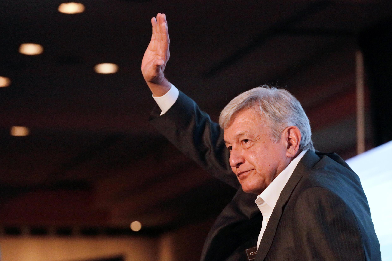 Andrés Manuel López Obrador est considéré comme le favori de l'élection présidentielle mexicaine.