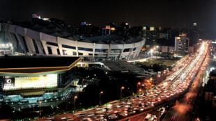 上海車流一景