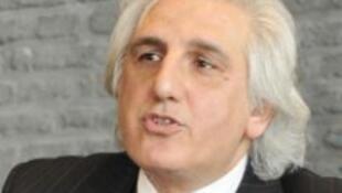Daniel Salvatore Schiffer, auteur du livre «Le testament du Kosovo, journal de guerre» paru aux  Editions du Rocher.