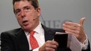 Bob Diamond, le PDG de la banque britannique Barclay's, a gagné 11,6 millions d'euros en 2010