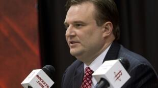 El director general de los Houston Rockets, Daryl Morey