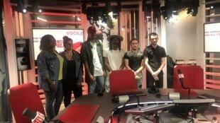 Músicos lusófonos na RFI a 20 de Junho de 2019.