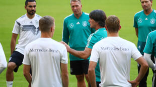 Đội tuyển Đức luyện tập cho trận đấu với Pháp trong Giải Liên Đoàn Các Quốc Gia UEFA, Munich, ngày 05/09/2018.