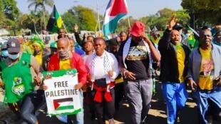 anc afrique sud pretoria palestine israel