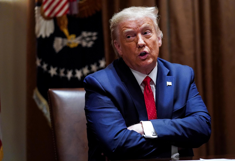 Donald Trump à la Maison Blanche, le 9 juillet 2020.