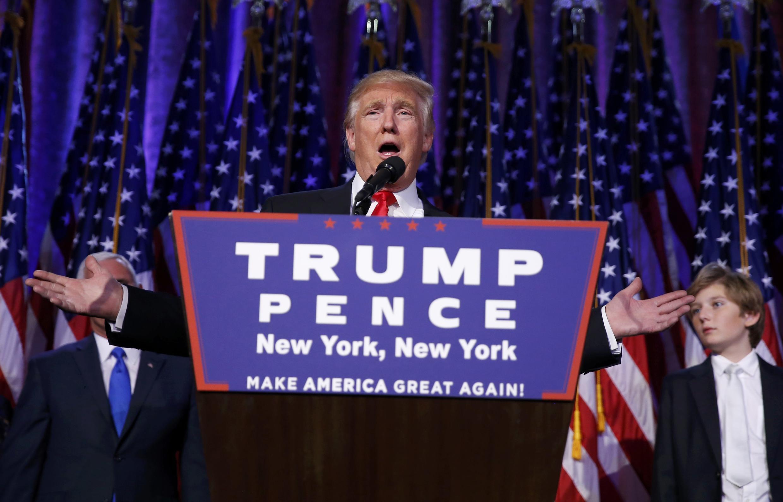 Rais mteule wa Marekani Donald Trump