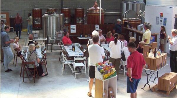 Một nhà máy bia tại Pháp.