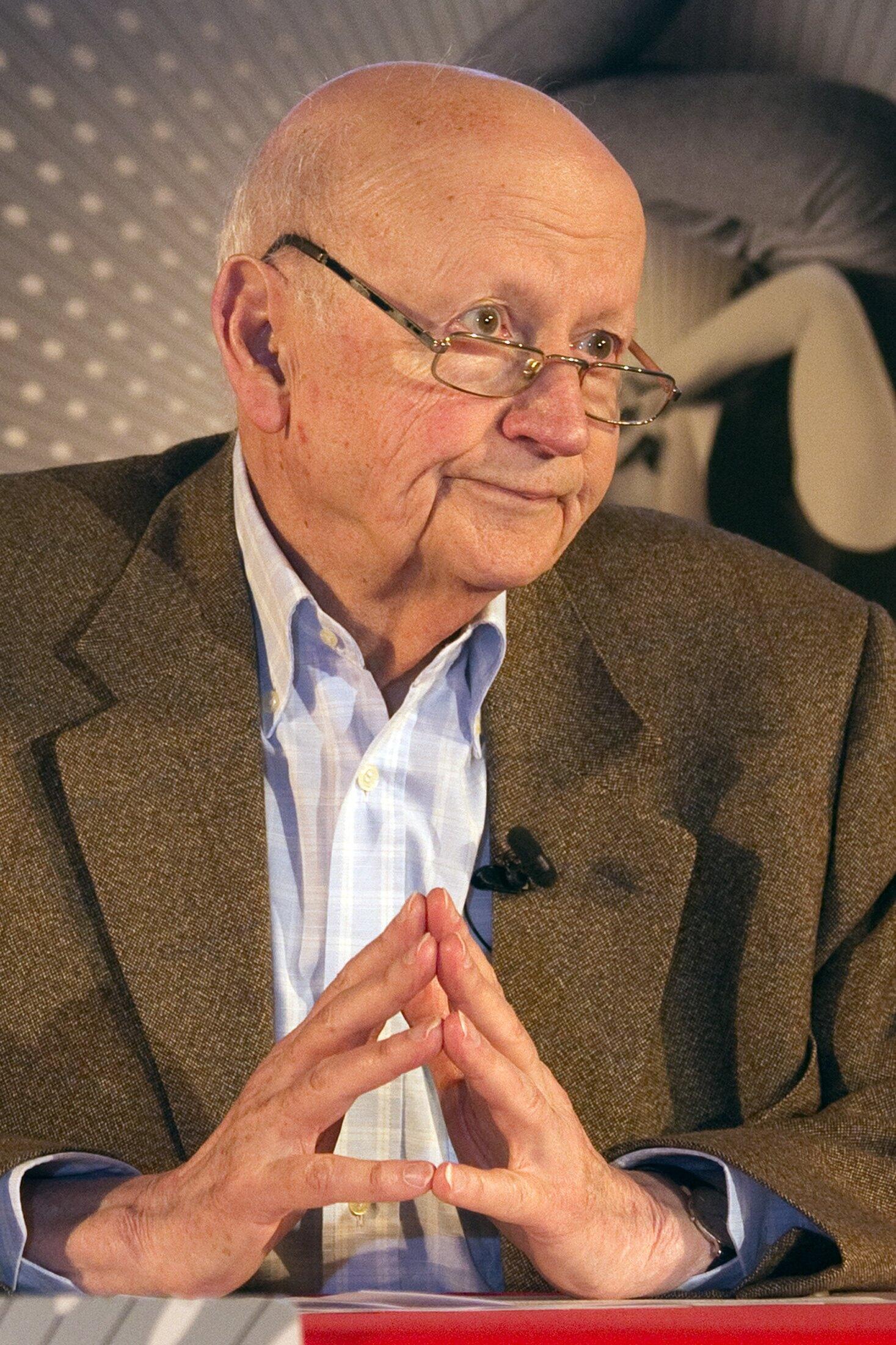 Gilles Jacob, président du Festival de Cannes, en avril, lors de la présentation de l'édition 2013.