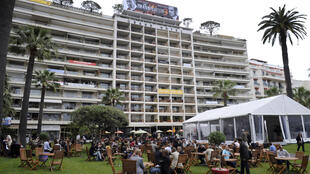 The Grand Hotel garden during the 61st Cannes International Film Festival in Cannes, southern France, May 2008.