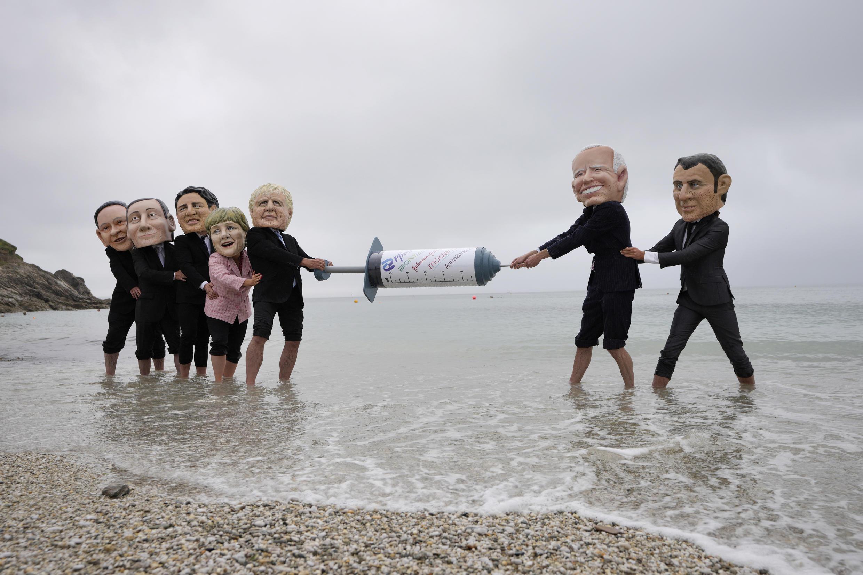 """روز جمعه ۱۱ ژوئن، نخستین نشست رسمی گروه هفت (G7) در شهر ساحلی """"کورنوال""""، واقع در جنوب غربی انگلستان، برگزار شد."""