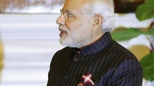 Hoping to hold on: Indian Prime Minister Narenda Modi.