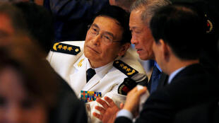 中国军队联合参谋部副总参谋长孙建国海军上将出席IISS香格里拉对话2016年6月3日新加坡