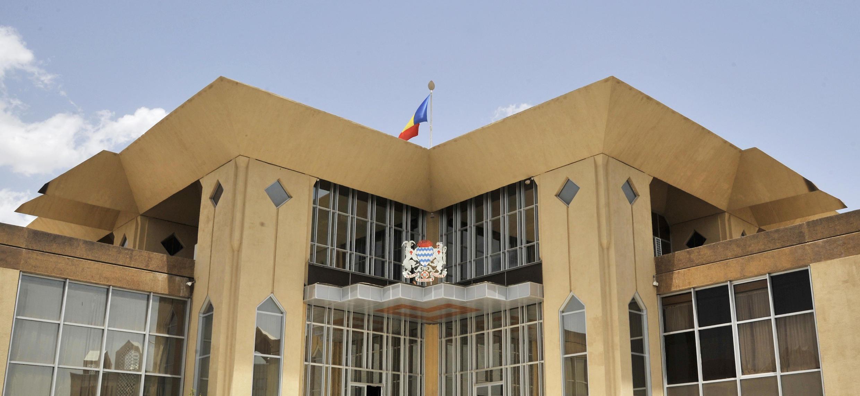 Le palais présidentiel du Tchad, à Ndjamena.