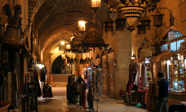بازار قدیم حلب