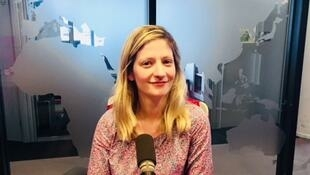 L'écrivaine américaine Lauren Elkin en studio à RFI (juin 2019).