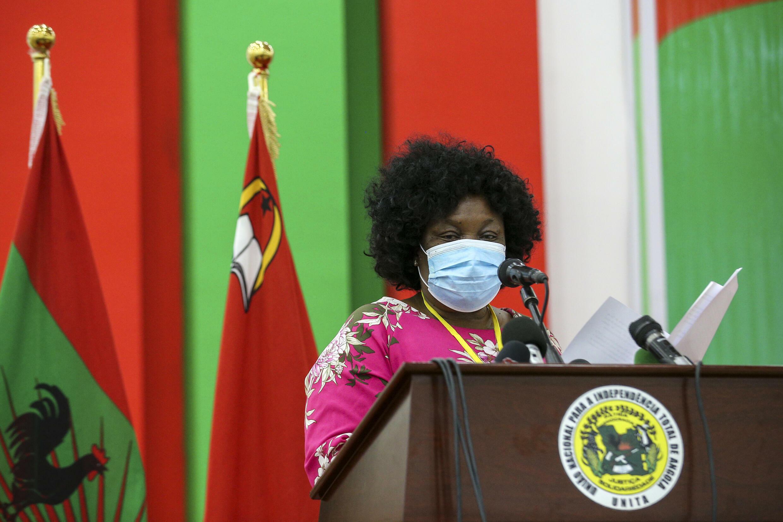 UNITA - Angola - Clarice Capuco - Porta-Voz - Comissão - Política - UNITA - Angola