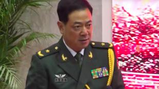 中国人民解放军驻香港部队司令员陈道祥资料图片