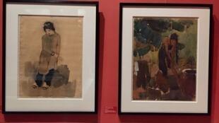 Bộ sưu tập hội họa Việt Nam mới được tặng cho bảo tàng Nghệ thuật châu Á Cernuschi, Paris, tháng 07/2018.