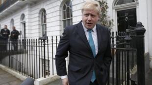 Thị trưởng Luân Đôn Boris Johnson, nhân vật trong đảng bảo thủ chống kịch liệt nước Anh ở lại Liên Hiệp Châu Âu.