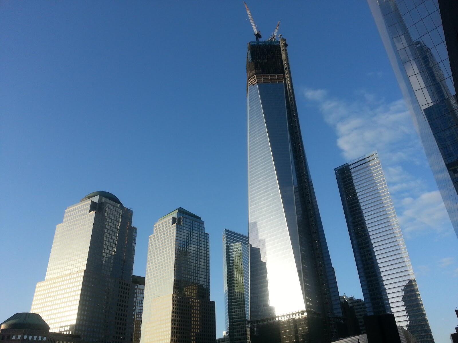 Imagem do novo complexo do Wolrd Trade Center, que ainda não conseguiu atrair o número esperado de locatários.