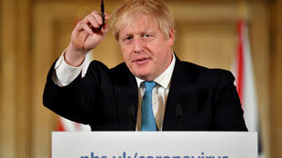 Prime Minister Boris Johnson said Britain could turn the virus tide -- but only if everybody heeded advice -- and he ruled nothing out if tougher measures prove unavoidable