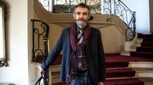El escritor y periodista Philippe Lançon el día que recibiço el premio Fémina.