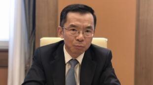 中國駐法國大使盧沙野資料圖片