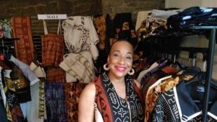 Mariétou Mariette Dicko, créatrice de mode, Présidente du projet culturel « MADI » Mode arts Développement International